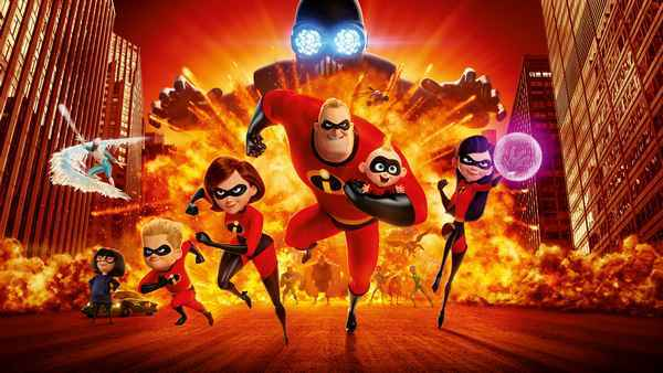 Суперсемейка 2 ( Incredibles 2 ),  2018